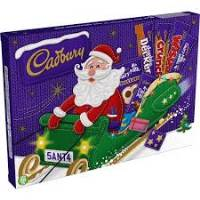 Cadbury selection box Santa